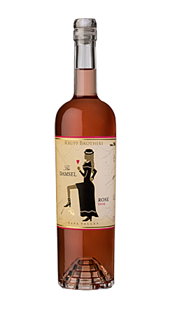 Krupp Brothers The Damsel Rosé Bottle Preview