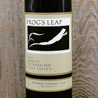 Frog's Leap Winery Merlot, Red Barn Vineyard-110R Bottle Preview