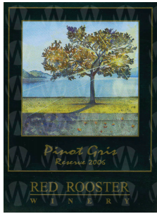 Red Rooster Winery Reserve Pinot Gris
