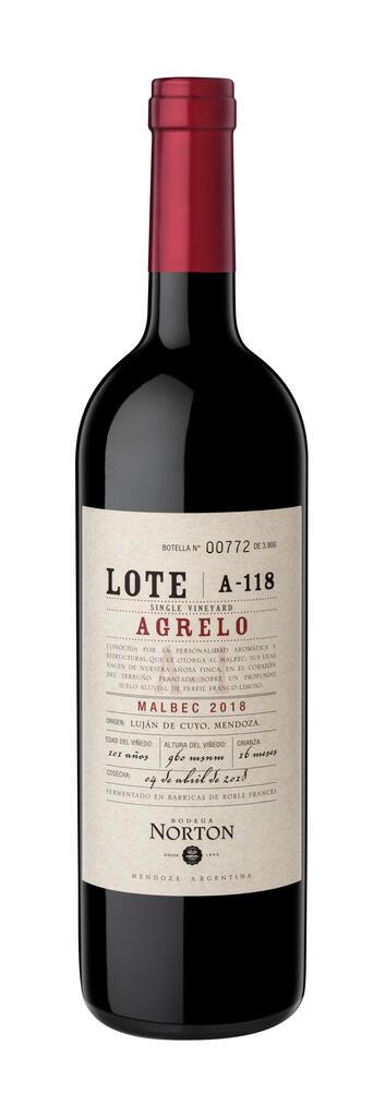 Bodega Norton Lote Agrelo Bottle Preview