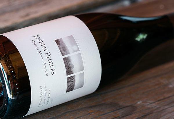 Joseph Phelps Vineyards Pinot Noir, Quarter Moon Vineyard Bottle Preview