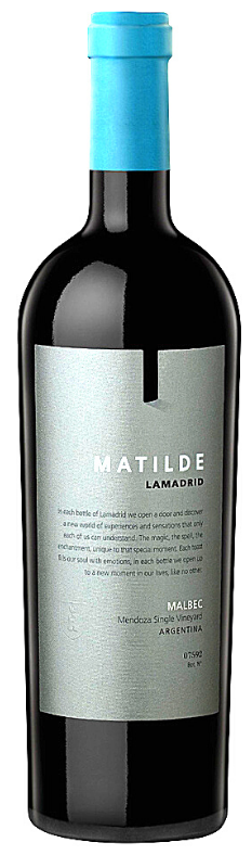 Lamadrid Estate Wines Matilde Bottle Preview