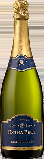 Gloria Ferrer Vintage Sparkling Wines Extra Brut Bottle Preview
