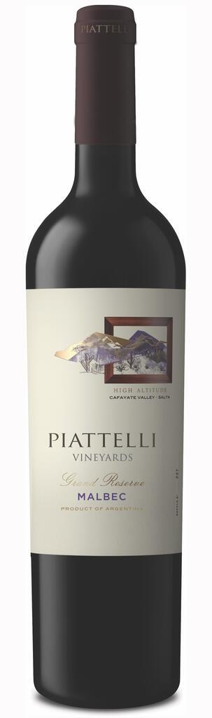 Piattelli Vineyards - Salta Piattelli Grand Reserve Malbec Cafayate Bottle Preview