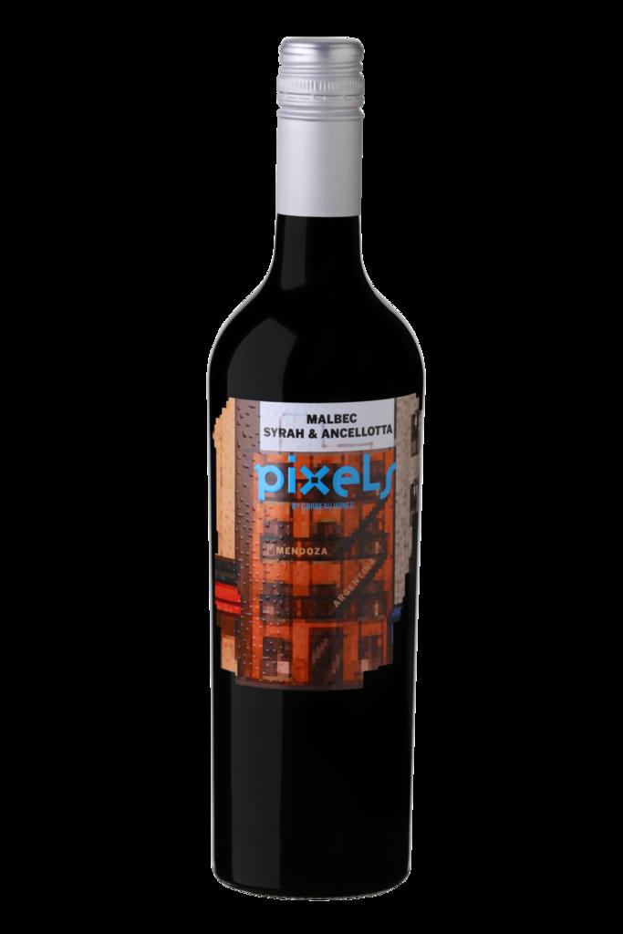 Pixels Malbec, Syrah & Ancellotta Bottle
