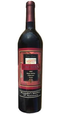 Hagafen Cellars Estate Bottled Napa Valley Cabernet Franc Bottle Preview