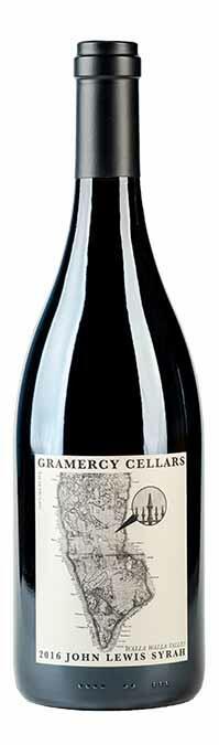 "Gramercy Cellars Syrah ""John Lewis"" Bottle Preview"