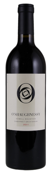 O'Shaughnessy Estate Winery Howell Mountain Cabernet Sauvignon Bottle Preview