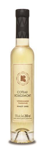 Vignoble Coteau Rougemont Pinot Gris Vendange Tardive