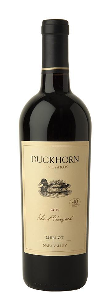 Duckhorn Vineyards Napa Valley Merlot Stout Vineyard Bottle Preview