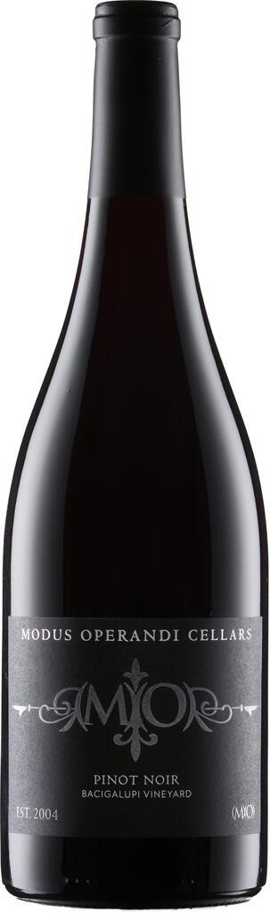 Modus Operandi Cellars Bacigalupi Vineyard Pinot Noir Bottle Preview