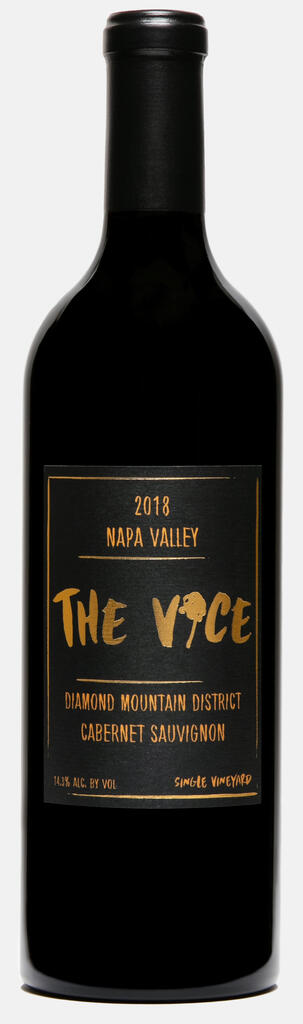 """The Vice Napa Valley Wines The Vice """"The Spectors"""", Cabernet Sauvignon, Diamond Mountain District, Napa Valley Bottle Preview"""