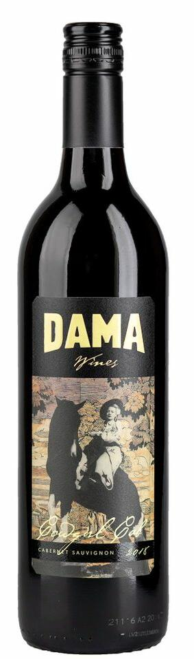 DAMA Wines Cowgirl Cab Bottle Preview
