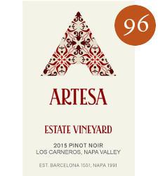 Artesa Winery Estate Vineyard Pinot Noir Bottle Preview