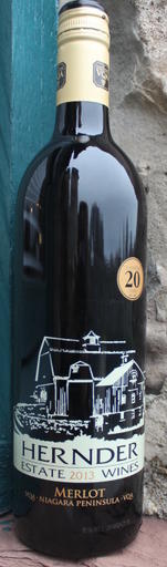 Hernder Estate Winery Merlot