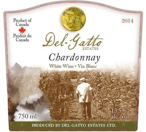 Del-Gatto Estates Chardonnay