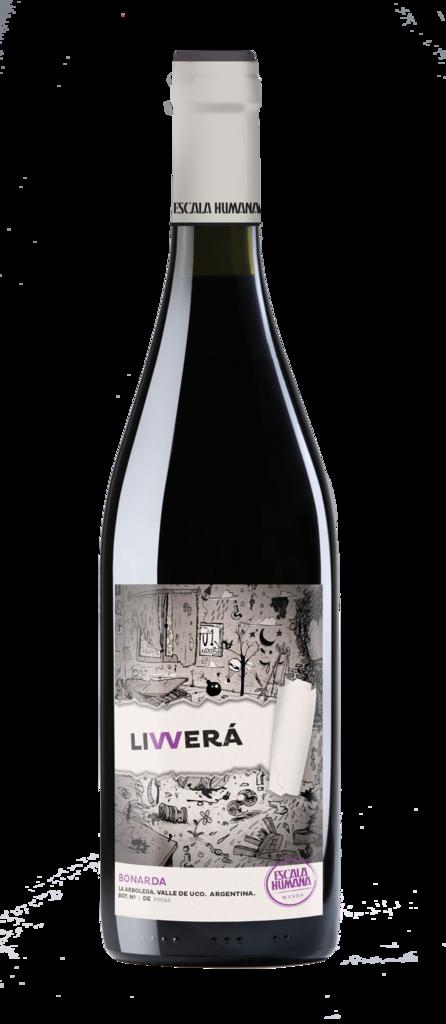 Escala Humana Wines LIVVERÁ Bonarda Bottle Preview