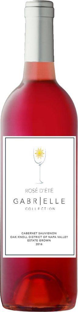 O'Connell Family Wines Gabrielle Collection Rosé d'Été Bottle Preview