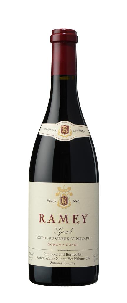 Ramey Wine Cellars Syrah, Rodgers Creek Vineyard, Sonoma Coast Bottle Preview