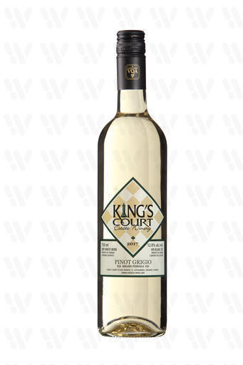 King's Court Estate Winery Pinot Grigio, White