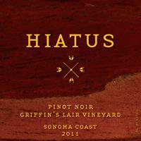 Hiatus Cellars Sonoma Coast Pinot Noir, Griffin's Lair Vineyard Bottle Preview