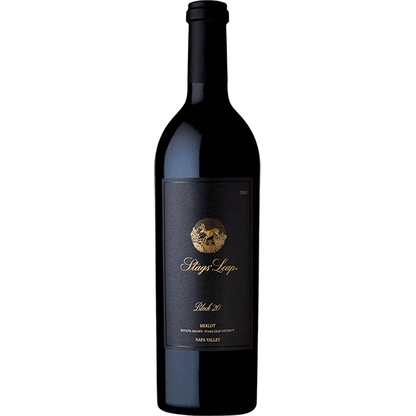 Stags' Leap Winery Stags' Leap Winery Block 20 Merlot Napa Valley Bottle Preview