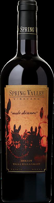 Spring Valley Vineyard Mule Skinner Merlot Bottle Preview