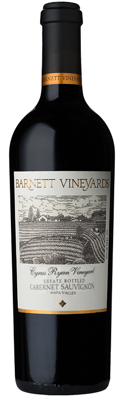 Barnett Vineyards Cyrus Ryan Cabernet Sauvignon Bottle Preview