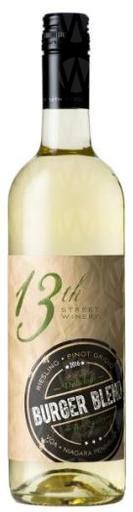 13th Street Burger Blend Riesling - Pinot Grigio