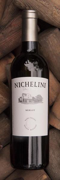 Nichelini Family Winery Merlot Bottle Preview