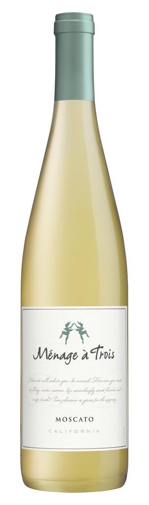 Ménage à Trois Wines Ménage à Trois Moscato Bottle Preview