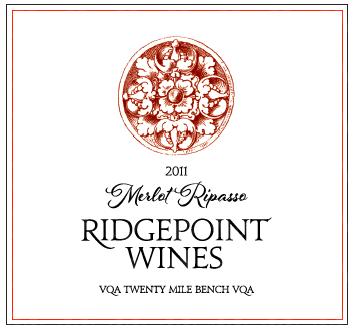 Ridgepoint Wines Merlot Ripasso