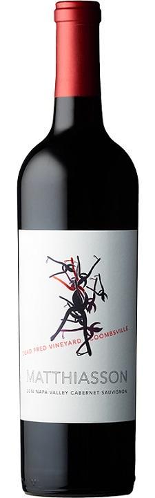 Matthiasson Wines Napa Valley Cabernet Sauvignon Dead Fred Vineyard Bottle Preview