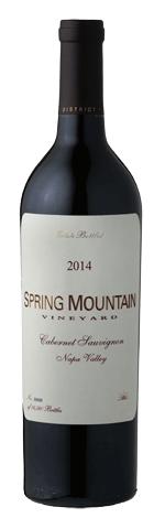 Spring Mountain Vineyard Estate Cabernet Sauvignon Bottle Preview