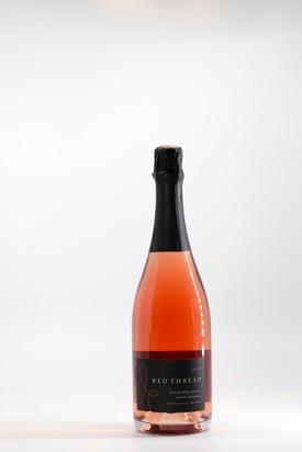 Red Thread Wines Brut Sparkling Rose - Methode Champenoise Bottle Preview