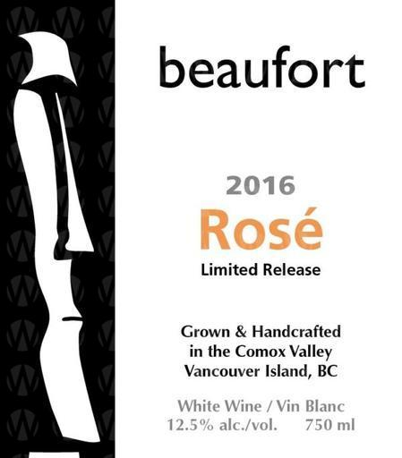 Beaufort Vineyard & Estate Winery Rosé Limited Release