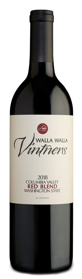Walla Walla Vintners Red Blend Columbia Valley Bottle Preview
