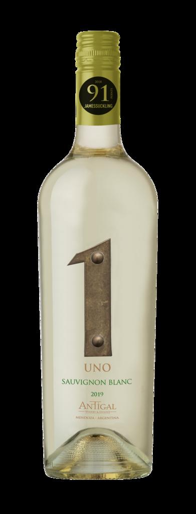 Antigal Winery & Estates UNO Sauvignon Blanc Bottle Preview