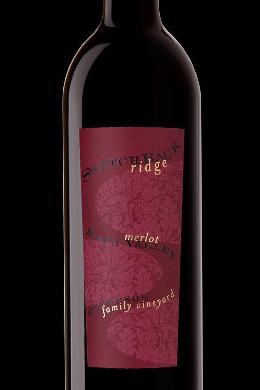Switchback Ridge Merlot Bottle Preview