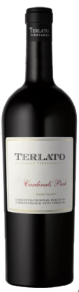 Rutherford Hill Winery Terlato Cardinals' Peak Bottle Preview