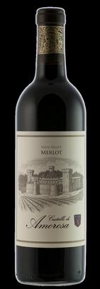 Castello di Amorosa MERLOT, Napa Valley Bottle Preview