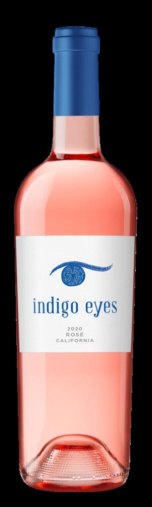 Indigo Eyes Wines Indigo Eyes California Rosé Bottle Preview