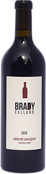 Brady Cellars Cabernet Sauvignon - Columbia Valley Bottle Preview