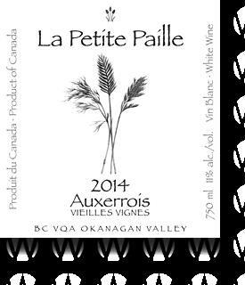 La Petite Paille Auxerrois Vieilles Vignes