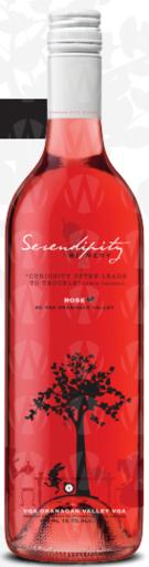 Serendipity Winery Rose