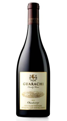 Guarachi Family Wines Sun Chase Chardonnay Bottle Preview