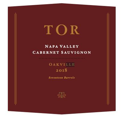TOR Wines Cabernet Sauvignon Oakville Bottle Preview