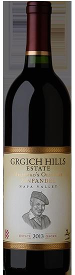 Grgich Hills Estate Miljenko's Old Vine Zinfandel Bottle Preview