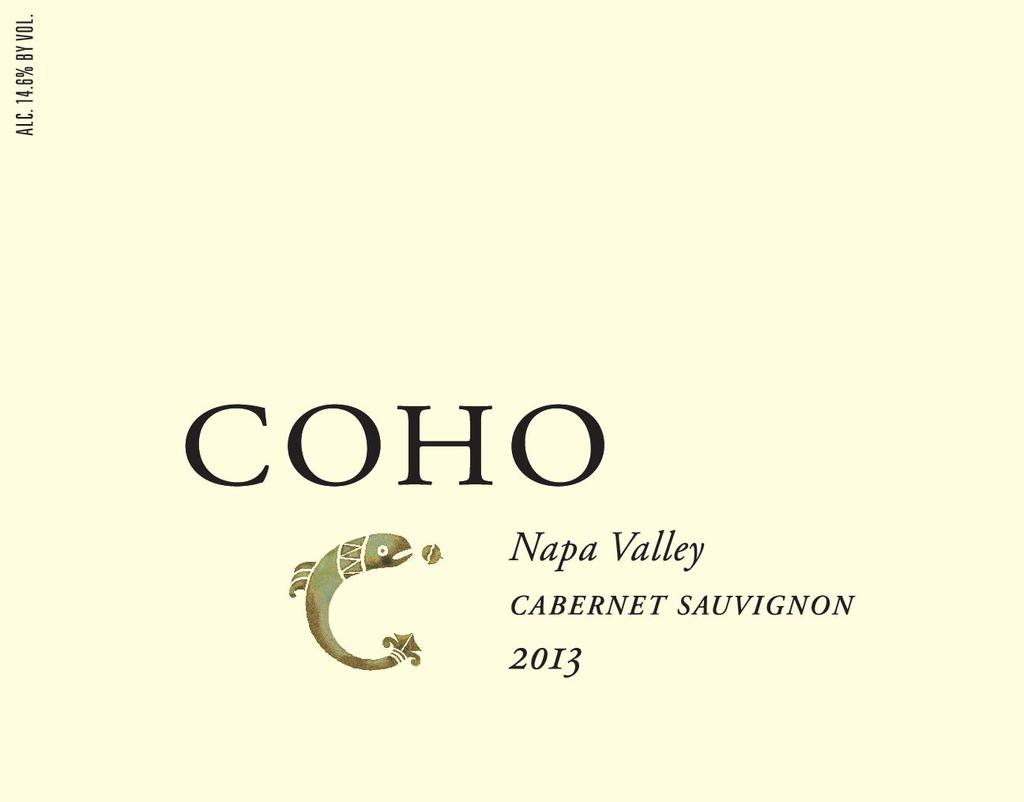 Coho Napa Valley Cabernet Sauvignon Bottle Preview