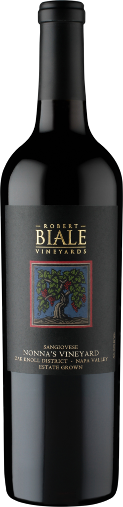 Robert Biale Vineyards Nonna's Vineyard Sangiovese Bottle Preview